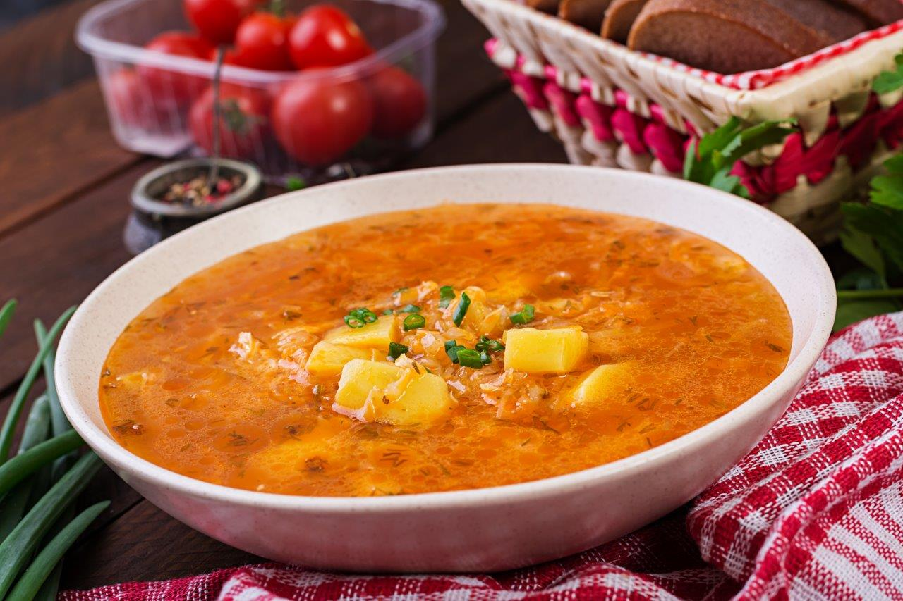 Russian cabbage soup (Shchi)