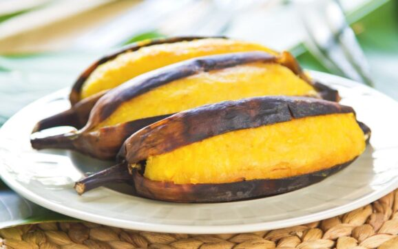 Barbecued Plantains